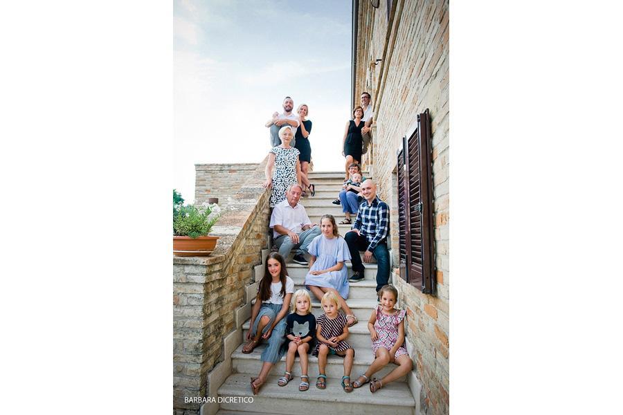 Belgian Family | Ritratto di Famiglia | Summer in Italy