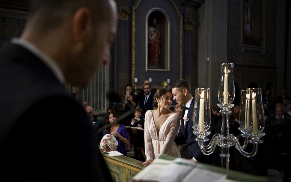 Matrimonio, risate e tanti amici
