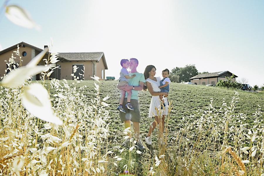 Profumo di lavanda | fotografia di famiglia | Barbara Di Cretico